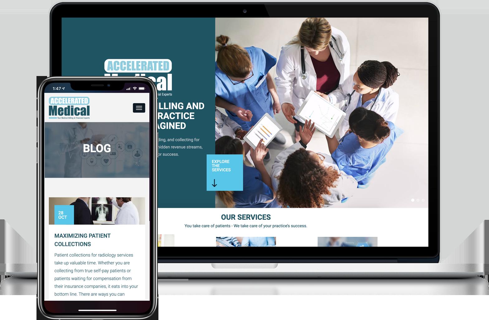 Accelerated Medical Billing Website