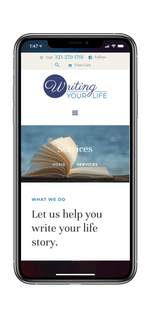Writing Your Life website